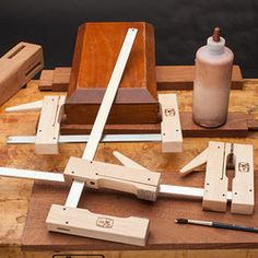 Woodworker's Cam Clamps