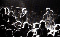 Stones at Altamont 1969 - the-60s Photo