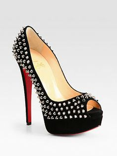 My Intimate Affair with Fashion: The Wild Side Studded Platforms