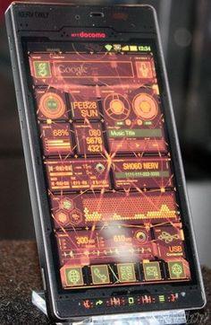 Evangelion Android Phone!