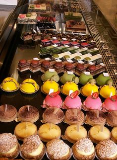 Pastry Case at Aoki