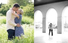the one on the right... worlds fair pavillion engagement pics