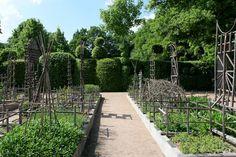 Priory D'orsan Garden Tour Garden Landscape - Landscapes Art, France, Garden, Landscape, medieval