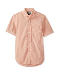 57% OFF Gitman Vintage Men's Chambray Key Shirt (Tan)