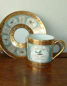 Gifts at Paka Dekha Bengalis China Dinnerware - Demitasse Coffee Cup & Saucer off