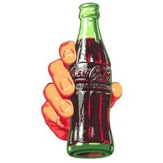 Coca Cola 1950 's  Bottle Soda