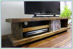 tv stand Low board-#tv #stand #Low #board Please Click Link To Find More Reference,,, ENJOY!! New Furniture, Rustic Furniture, Furniture Ideas, Rustic Tv Unit, Homemade Tv Stand, Tv Stand Luxury, Tv Stand Plans, Denver Tv, Wooden Tv Stands