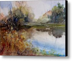 River Dance Canvas Print / Canvas Art By Sandra Strohschein