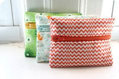 Coin purses | Addictive little suckers. Made using a modifie… | Flickr