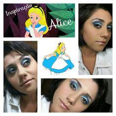Make Up  inspiração Alice no país das maravilhas