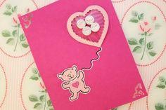 Valentines card - Hjärtkort