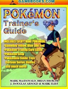 Pokemon Trainer's Guide by Mark MacDonald Brian Brokaw J Douglas Arnold and M 188436425X | eBay