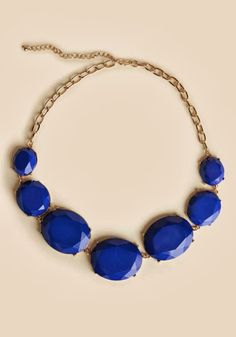 at Ruche // blue necklace