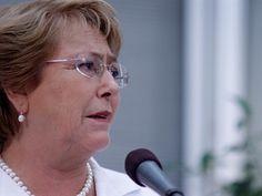 """Presidenta Bachelet: """"En Chile hay abortos clandestinos"""""""