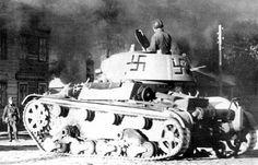 ХТ-133 огнеметный танк  красной армии на финской  службе