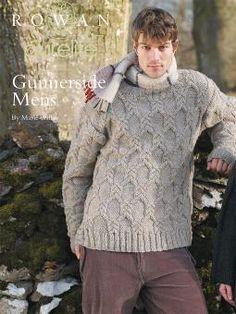 Gunnerside Men's Free Download Pattern for Men's Cable Sweater by Marie Wallin at Rowan. #Knitting http://www.knitrowan.com/files/patterns/Gunnerside_Mens.pdf