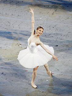The glittering Evgenia Obraztsova in Symphony in C onJune 17, 2011 in St. Petersburg. Photo by Yuri Lobachev.