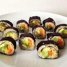 happy healthy food :): Quinoa Sushi