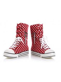 c76581d7bb30ac Patterned Canvas High Boots