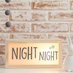 Lightbox personalizada feita em madeira