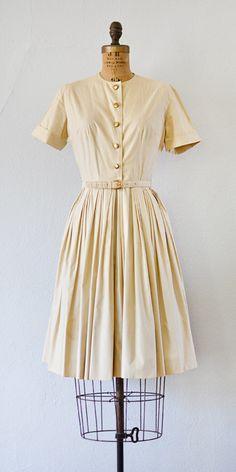 vintage 1950s dress | Notes on Paperback Dress | Adored Vintage