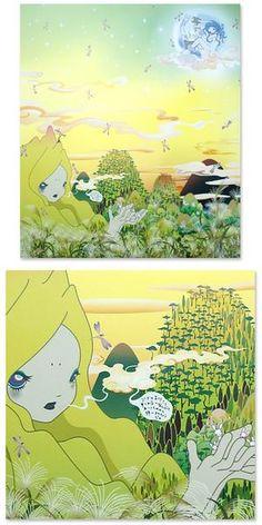 Chiho Aoshima - Yuyake-chan Miss Sunset Print