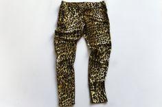Little girls leopard leggings