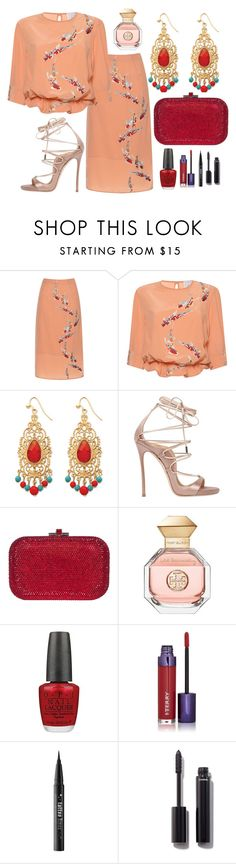 """""""Malay"""" by cindiawb ❤ liked on Polyvore featuring Stella Jean, Palm Beach Jewelry, Dsquared2, Judith Leiber, Tory Burch, OPI, By Terry, Kat Von D and Chanel"""