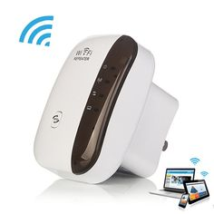 Wireless Wifi Repeater 300 Mbps 802.11n/b/g Rete Wifi Extender Amplificatore di Segnale Internet Antenna Signal Booster Repetidor Wifi