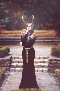 Lady Loki Cosplay http://geekxgirls.com/article.php?ID=5361                                                                                                                                                                                 More