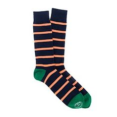 Naval-stripe socks  $14.50
