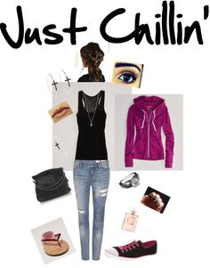 """""""Just Chillin'"""" by siriuscindybee ❤ liked on Polyvore"""