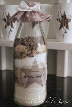 """maison de la suisse: 10. adventni okenko - Vanocni darek """"Brownies v la..."""