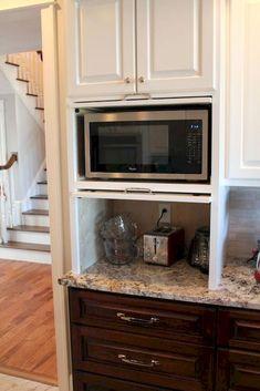 150 gorgeous farmhouse kitchen cabinets makeover ideas (39)