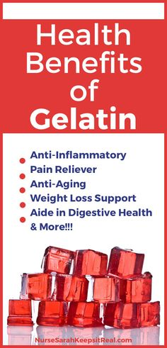 Are you looking for a great way to support healthy weight loss and digestion? Look no further... Check out the nutritional health benefits of gelatin here!
