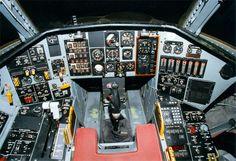 """Tacit Blue (""""Whale"""") Cockpit"""