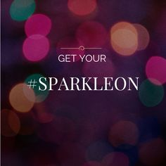 Come on. Get your Sparkle On  everyone at North East Hour. What have you been up to?