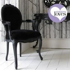 Sassy Boo Lady\'s Chair|Chairs  Armchairs|Seating|French Bedroom Company
