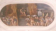 Affreschi del Torrione da basso nel Castello del Buonconsiglio a Trento.  1531.