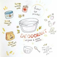 Deodorant: Vegan & Zero Waste Make your own natural deodorant at home, plastic free, vegan and zero waste! More from my Super Easy Ways To Reduce Waste In Your Home 10 Super Easy Ways To Reduce Waste In Your Home Reduce waste at home Zero Waste, Reduce Waste, Easy Diy Christmas Gifts, Ideias Diy, Natural Deodorant, Sustainable Living, Sustainability, Recycling, Reuse Recycle