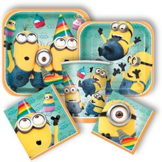 Despicable Me Party Supplies, Despicable Me Birthday Party