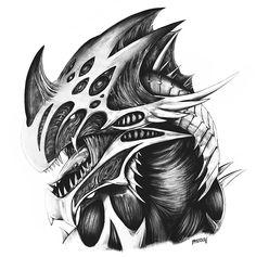 Bugs, Fantasy Creatures, Ark, Survival, Genesis 2, Sketches, Fan Art, Drawings, Gaming