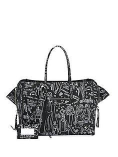 f161393633 Balenciaga - Papier Animation Zip-Around Leather Handbag