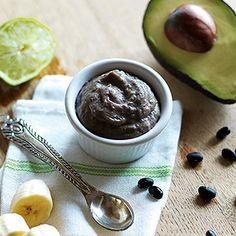 black bean banana lime mash | Baby Gourmet