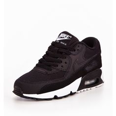 Nike Air Max 90 Mesh ($91) ❤ liked on Polyvore featuring shoes, nike, mesh shoes, nike shoes, nike footwear and fleece-lined shoes