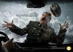 """""""Por lo general, la víctima es inocente.  Conduzca con cuidado, salvar una vida!"""". CCVR (The Centre Of Consultancy For The Road Victims): Road Hitler"""