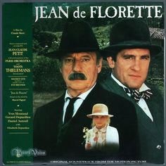 """The musical score for the film #Jean #de #Florette is based around the aria """"Invano Alvaro"""" from Giuseppe Verdi's 1862 opera """"La forza del destino."""" The score was composed and arranged by Jean-Claude Petit. The film is a 1986 French period drama film directed by Claude Berri, based on a novel by Marcel Pagnol. The film takes place in rural Provence, where two local farmers scheme to trick a newcomer out of his newly inherited property. #JeanDeFlorette #Soundtrack #JeanClaudePetit #Vinyl #LP"""