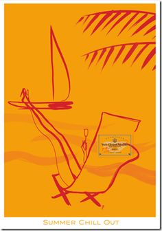 By Florence Deyga & collaboration with Veuve Clicquot champagne, 2 0 0 7, Summer Chill Out.