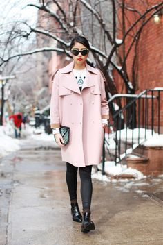 28 perfect winter outfits from 4 NYC bloggers