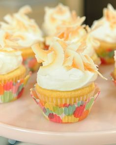 Coconut Cream Cupcakes - Martha Stewart Recipes